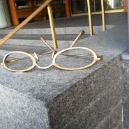 Eye Glasses as street art.