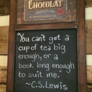 Tea House Wisdom—on the road in Virginia