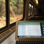 Writing on the rails