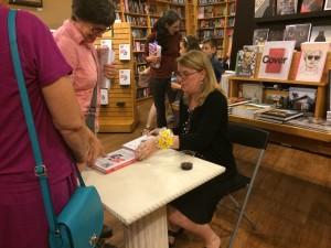 Signing at Parnassus Books