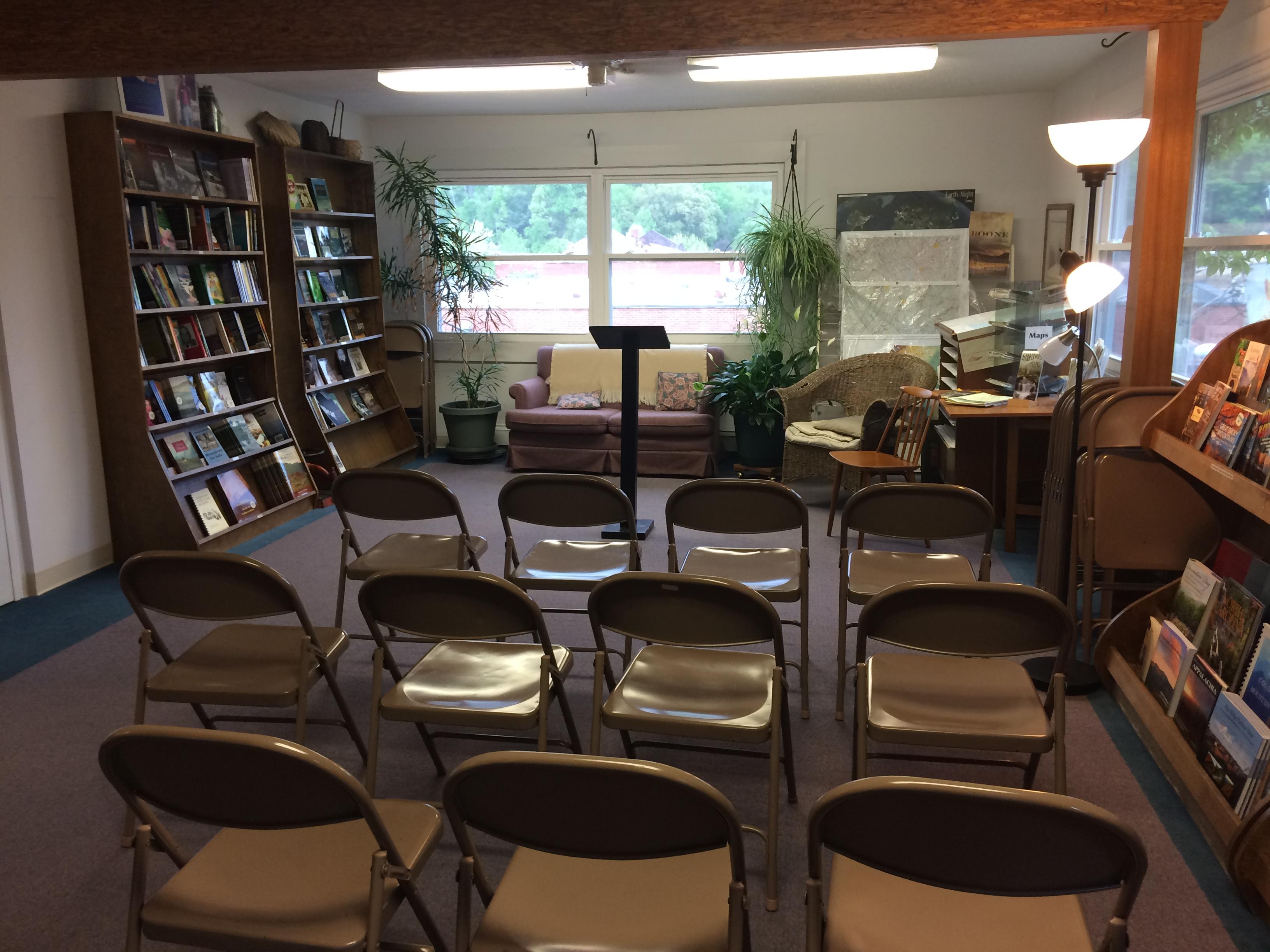 Corabel Shofner City Lights Bookstore Sylva NC